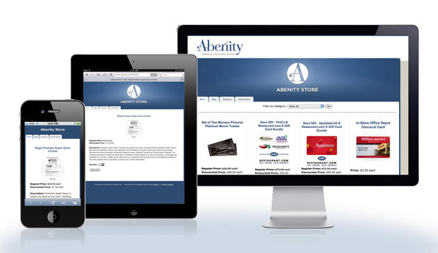 Abenity Store Mobile Display