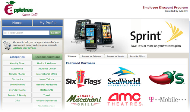 AppleTree Employee Discount Program