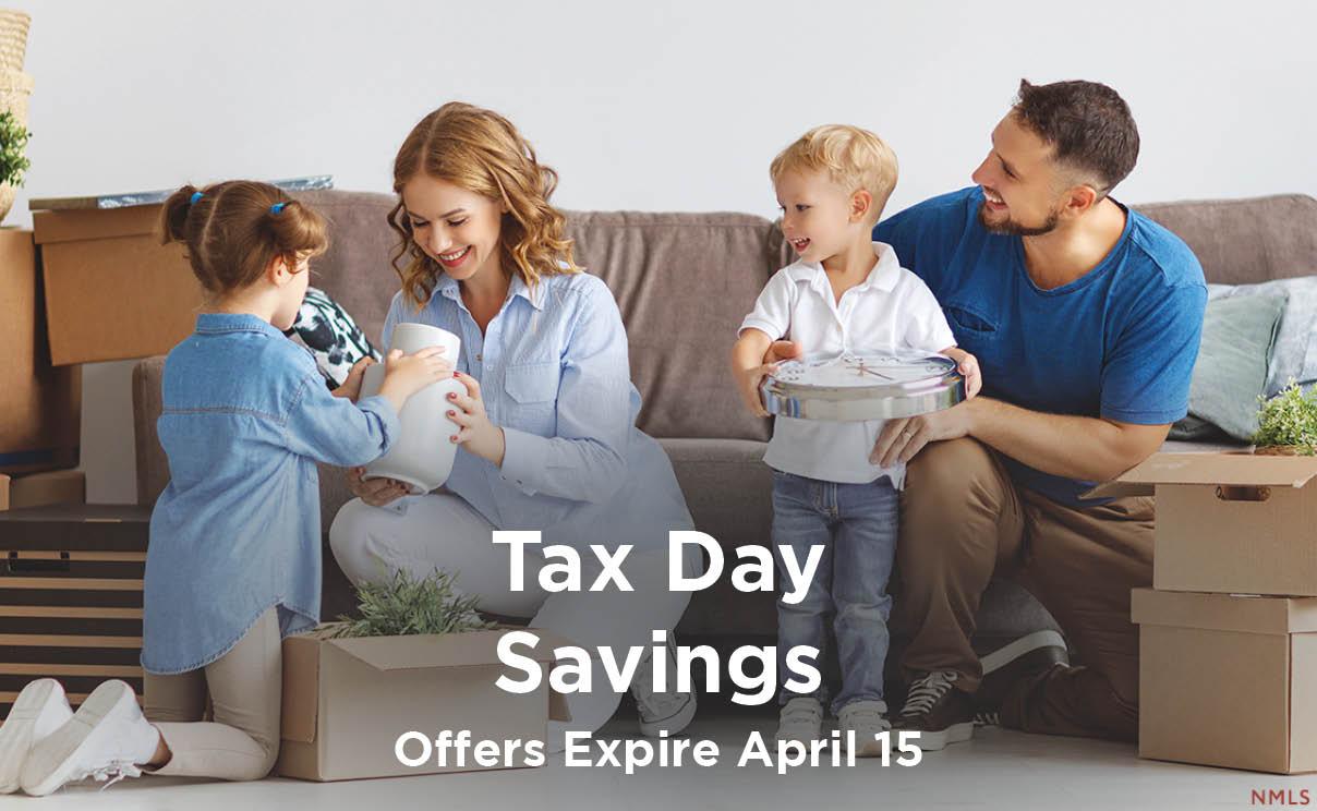 Tax Day Savings
