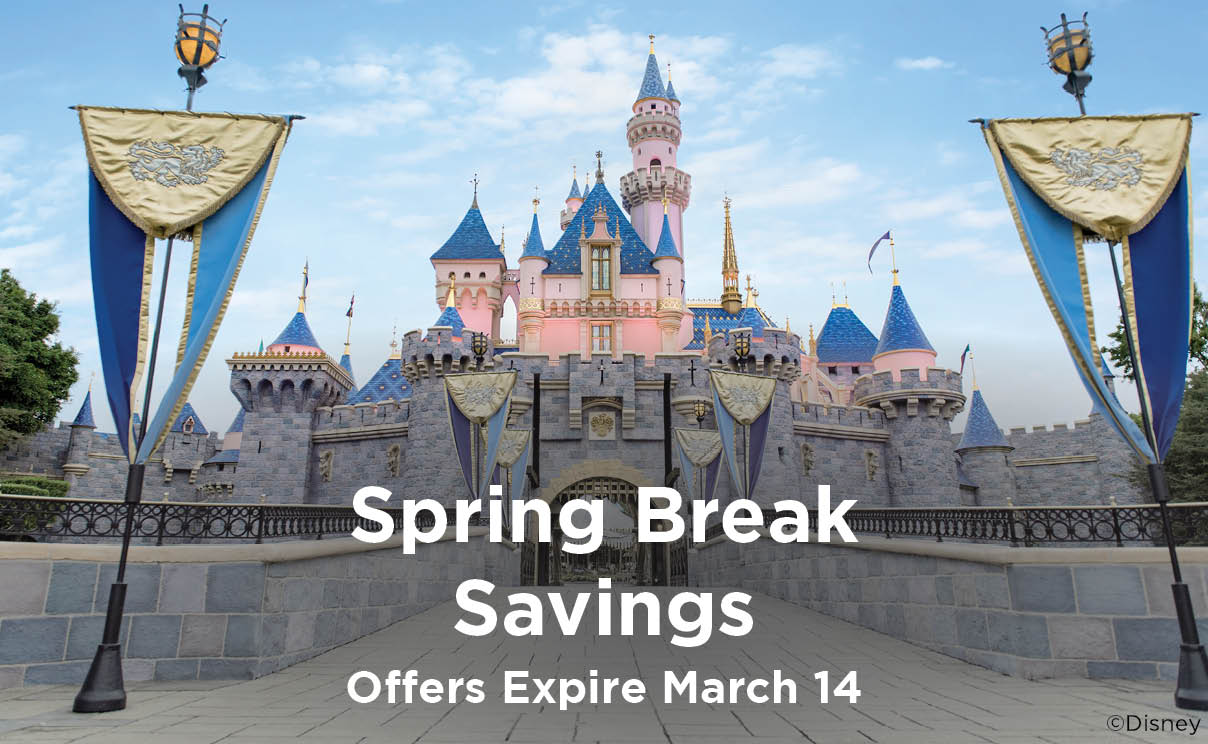 Spring Break Savings