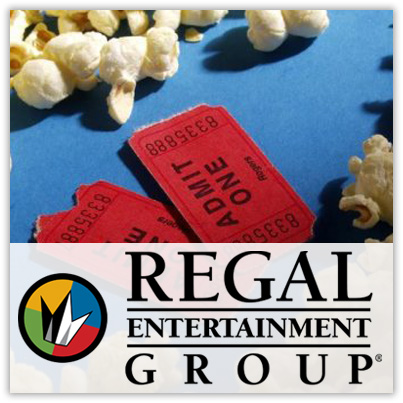 Regal Cinemas: Save Up To 40% On eTickets
