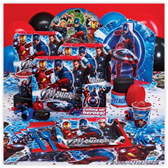 The Avengers Deluxe Party Pack for 8