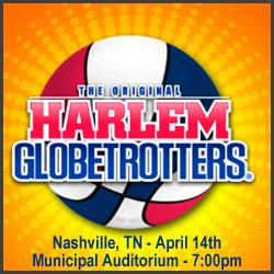 $8 Off Harlem Globetrotters in Nashville