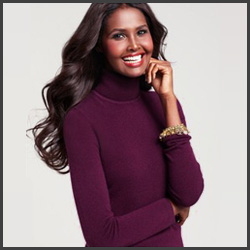 Charter Club Long-Sleeve Cashmere Turtleneck Sweater Discount