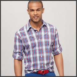 Tommy Hilfiger Plaid Shirt Discount
