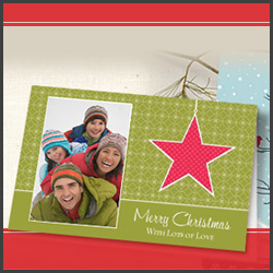 holiday custom photo cards discount - Vistaprint Holiday Cards