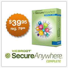 SecureAnywhere™ Complete 2012
