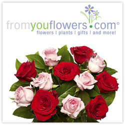 Save 50% on select Valentine's Day Roses from From You Flowers