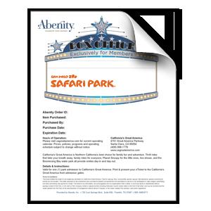 San Diego Zoo Safari Park - Child 1-Day Pass (Ages 3-11)
